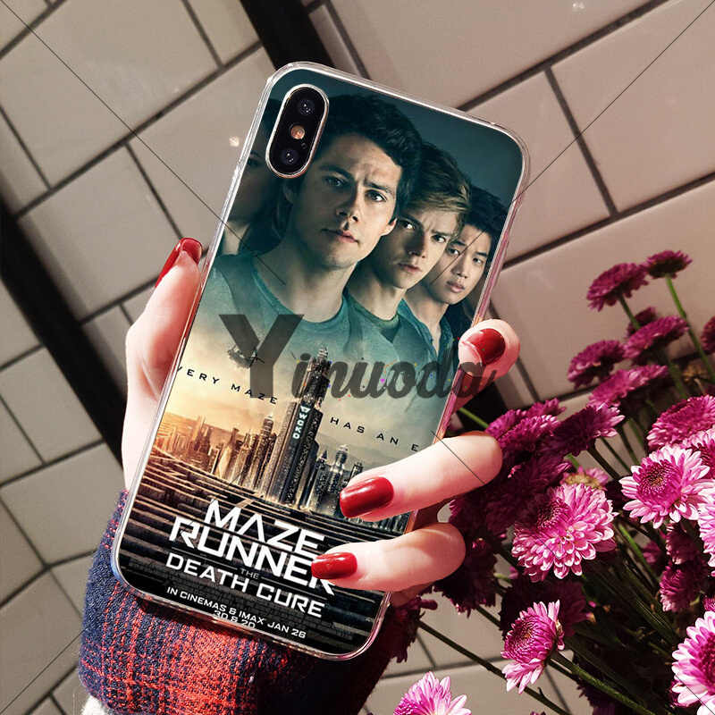 Yinuoda Maze Runner The Death Cure Custom Photo Soft Phone Case For Iphone X Xs Max 6 6s 7 7plus 8 8plus 5 5s Xr