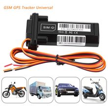 Universal Car Vehicle Motorcycle GSM GPS Tracker Locator Global Real Time Tracking Device Tracking System(China)