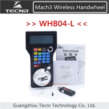 ЧПУ маховик беспроводной Mach3 MPG подвеска маховик для фрезерный станок маховик контроллер WHB04/WHB04-L