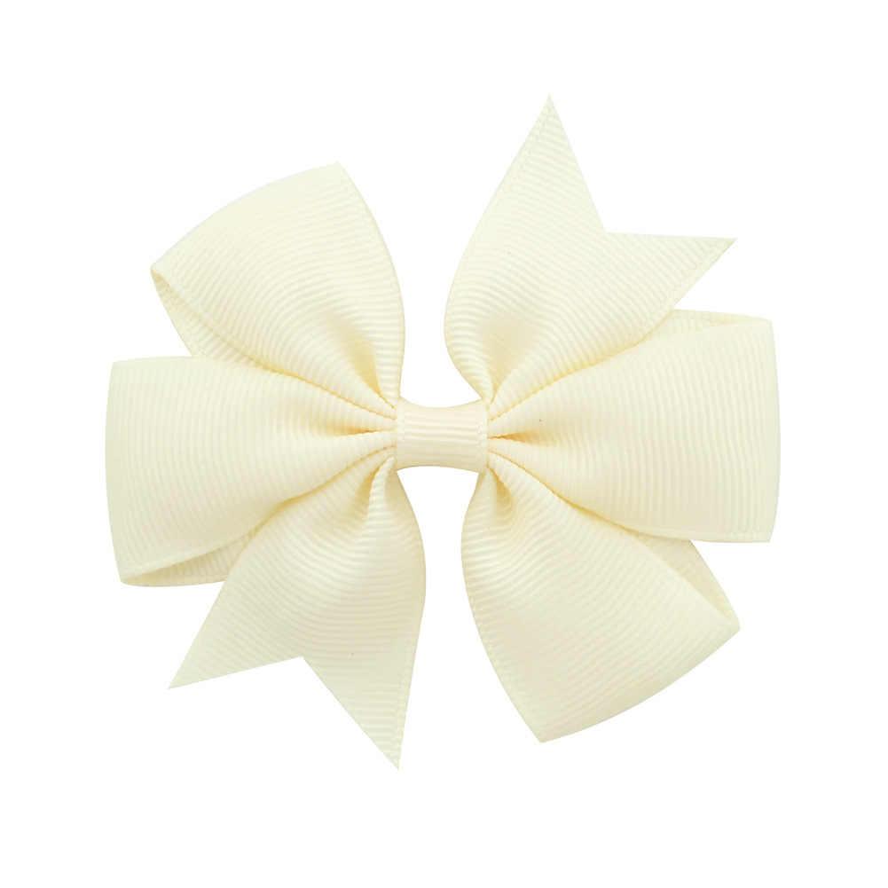 1 piezas de oro y de plata bebé tocado nuevo colorido Boho recién nacido Niño diadema elástica pelo banda chica nudo de lazo