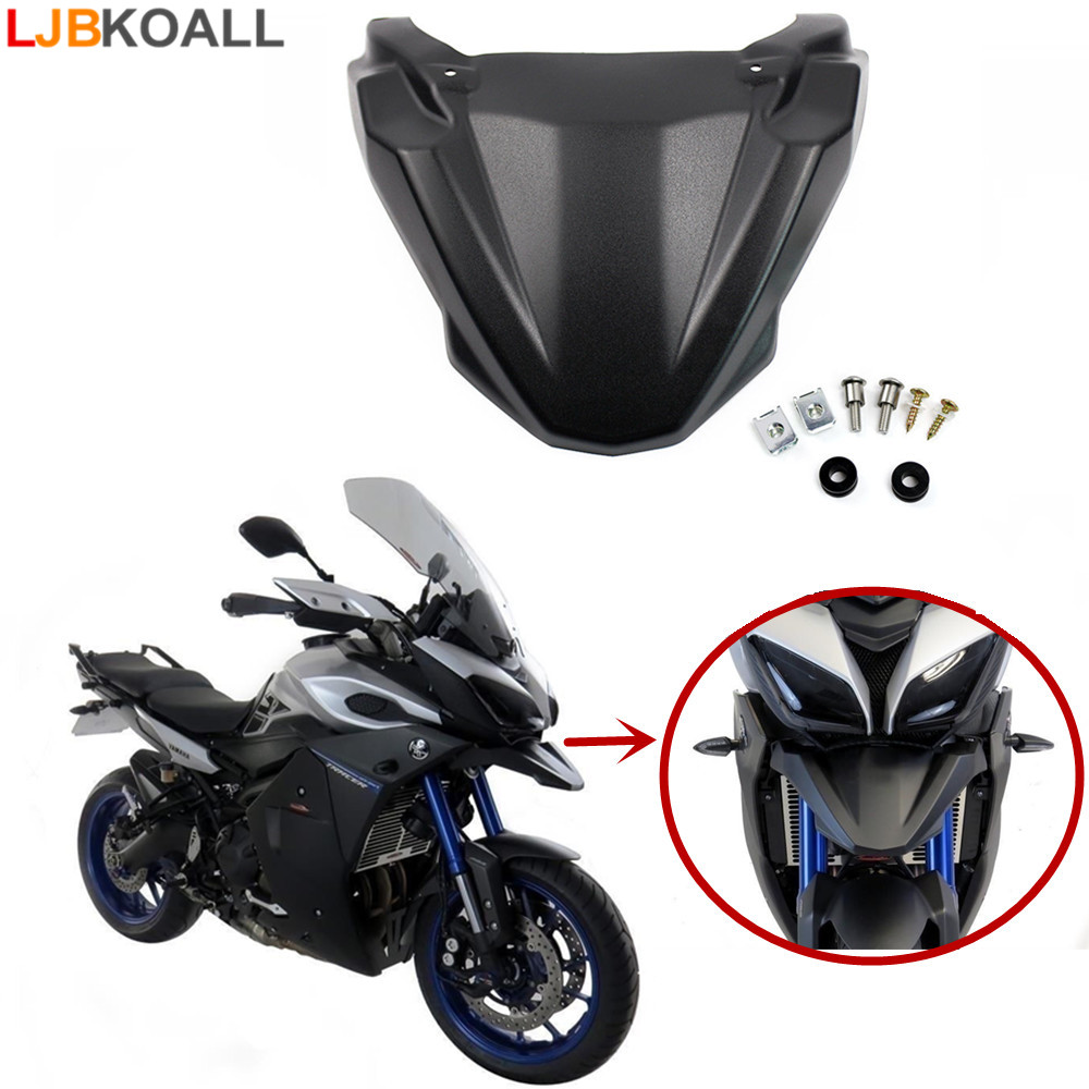 LJBKOALL Motorcycle Accessories For Yamaha MT-09 MT 09 MT-09 Tracer 2015 2016 Headlight Bottom Bracket Mount Holder Beak FJ-09 for yamaha mt 03 2015 2016 mt 25 2015 2016 mobile phone navigation bracket page 7