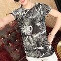 2016 весна лето бесплатная доставка 24 типов девушка футболки о-образным вырезом мода с коротким рукавом женщины - рубашки девушка пуловеры топы и тис