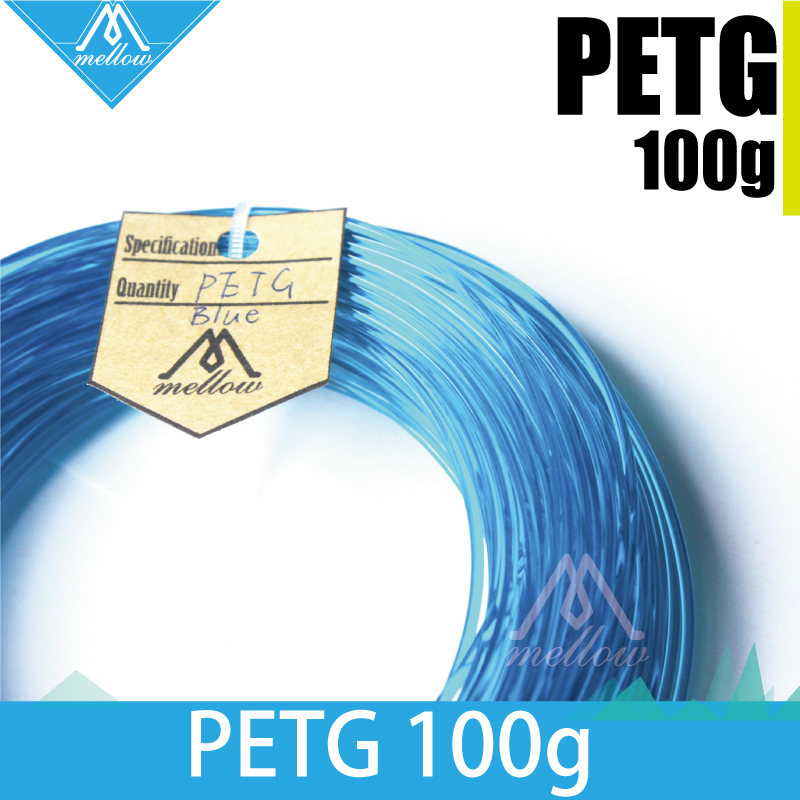 100g 3d Drucker Petg Filament 1,75/3,0 Für Makerbot Blau Semi-transparent Reprap Up Flash Forge Und Alle Fdm 3d Drucker Afinia