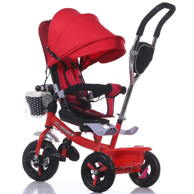 children baby stroller Rubber wheel Shock absorption child