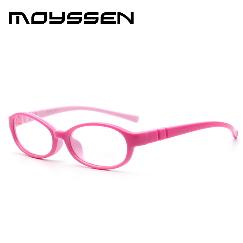 131c5bb381 Moyssen High end Korean Kid s TR90 Silicone Soft Frame Eyeglasses Candy  Color Children Optical Myopia Glasses Eyewear-in Eyewear Frames from  Apparel ...