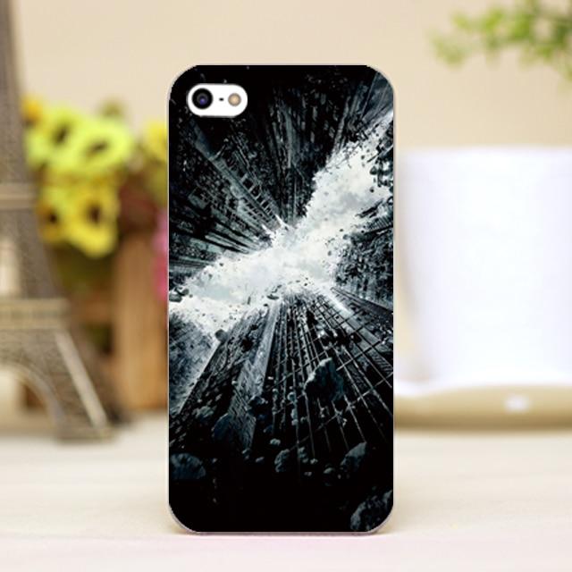 pz0100-28 Batman city logo For Marvel Design phone transparent cover cases for iphone 4 5 5c 5s 6 6plus Hard Shell