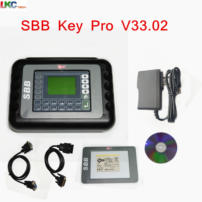 High Quality Silca SBB V33.02 Key programmer multi langauge sbb Key Programmer V33.02 silca sbb Shipping Free 3 0 lcd sbb car key programmer