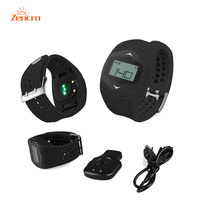 Wireless Heart Rate Monitor Watch Smart Pedometer Fitness Tracker For Sports