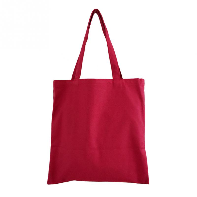 Canvas Reusable Shopping Bag Candy Color Tote Bag Eco Grocery Bag for Women Large Capacity Handbag Shoulder Bag Durable trendy zippers and candy color design women s tote bag