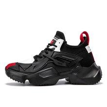 2019 Новый стиль Мужская обувь для бега дышащая обувь для бега легкие кроссовки Мужская Спортивная уличная спортивная обувь мужская обувь Zapatos