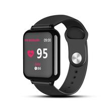 B57 inteligentne zegarki wodoodporne sportowe dla iphone telefon smartwatch z kontrolą tętna funkcje ciśnienia krwi dla kobiet mężczyzn kid tanie tanio ZAPET Android OS On Wrist All Compatible 128 MB Passometer Sleep Tracker Heart Rate Tracker Remote Control Message Reminder