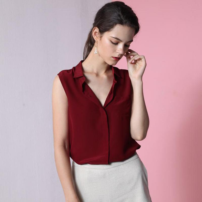 Blouse Shirts 2019 Lapel