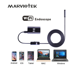 Endoscope 720P HD Wifi Endoscope Camera Android Iphone Borescope 1/2/3.5/5M USB Waterproof Wireless Borescope Camera 8mm Lens