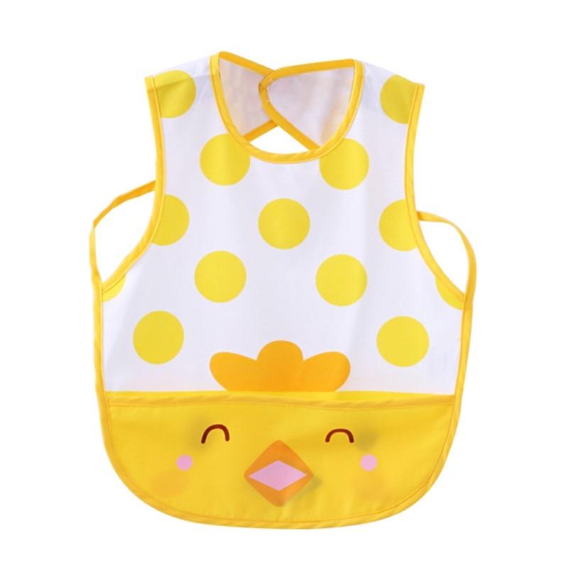 Baby Bibs Cartoon printing waterproof children gowns bib Newly