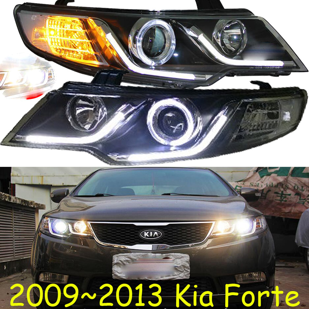 HID,2009~2013,Car Styling,KlA Forte Headlight,cerato,Sportage R,soul,spectora,k5,sorento,kx5,ceed,Forte head lamp,cerato