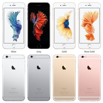 "Unlocked Apple iPhone 6S Smartphone Dual Core 16G/64G/128GB ROM 4.7"" Display 12MP 4K Video iOS LTE Fingerprint Used Phone 2"