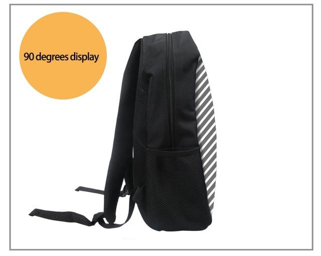 FORUDESIGNS 3pcs/set Adorable Kitten Cat School Backpack for Girls Orthopedic Satchel Schoolbag In Primary Students Notebook Bag