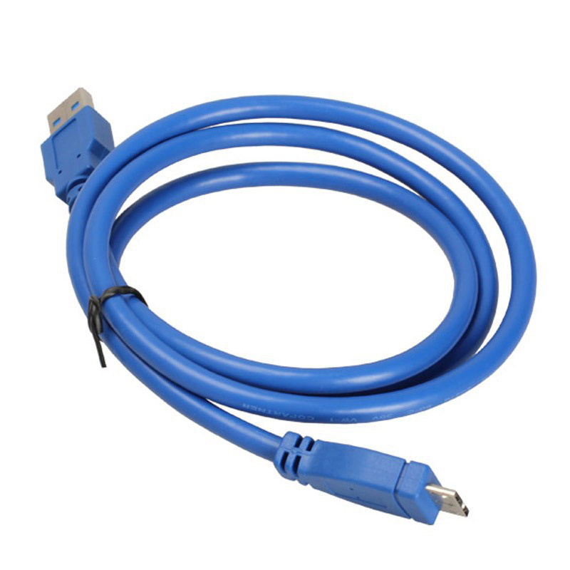 High Quality USB 3.0 Type A Male to USB 3.0 Micro B Male Adapter Cable High-speed