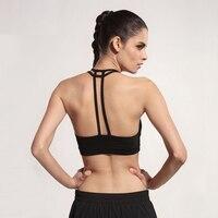 ef58ac25f Hot Sale 2017 Fashion Sexy Women Hollow Back Shirt Tank Top Double Shoulder  Strap Bra Wrap
