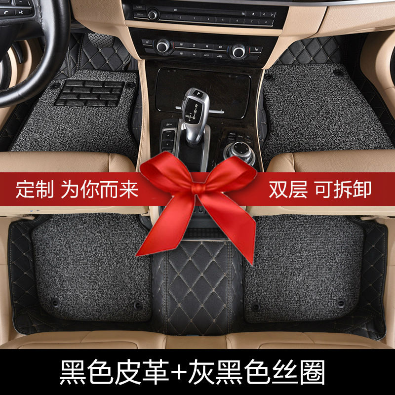Myfmat car floor mat foot rugs set for Peugeot 301 2008 308 408 508 3008 RCZ 208 4008 308S Caddy Combi VR6 multivan Golf GTI CC