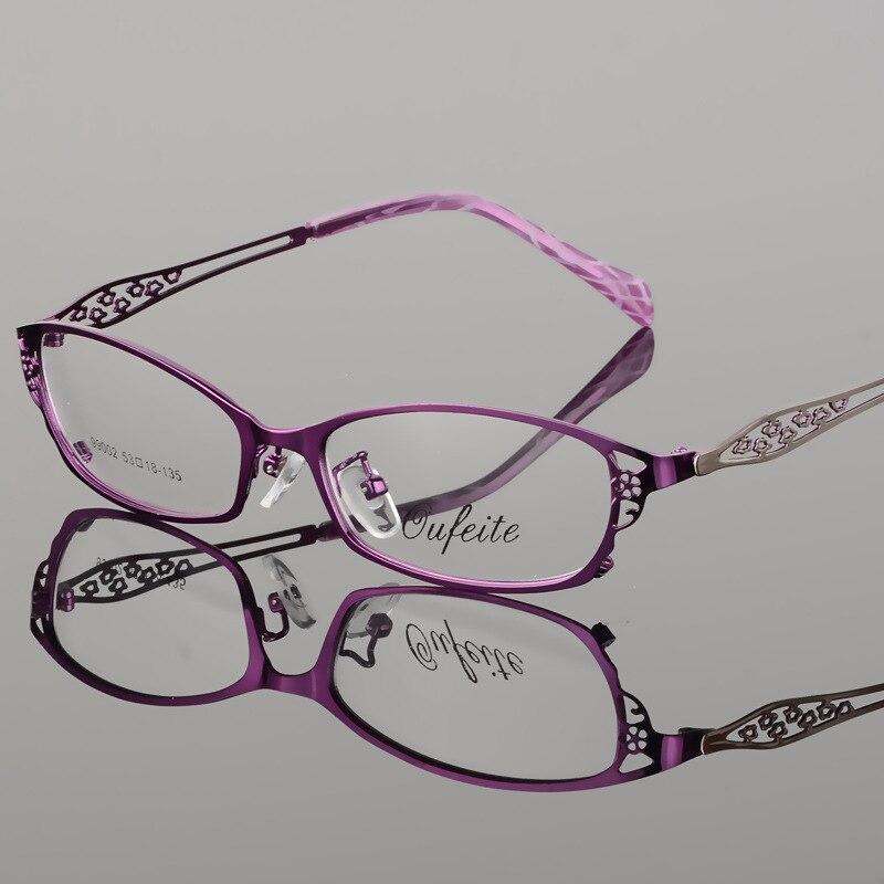 Vazrobe Mode Klare Gläser Rahmen Frauen Hallow Entwurf Dünne Damen ...
