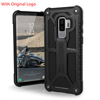 Monarch Feather Light Rugged Military Drop Tested Case for Samsung Galaxy S7 Edge S8 S9 Plus Note 8 With Original logo