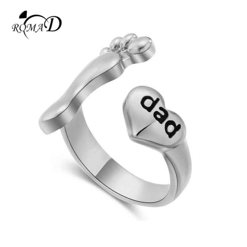 Baby Shower Gift Extra Small /& Large Size Available Sterling Silver Baby Feet Ring Baby Shower Ring
