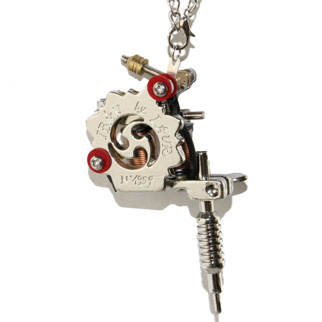 1pcs pendant unisex cool fashion jewelry necklace mini tattoo 1pcs pendant unisex cool fashion jewelry necklace mini tattoo machine gold tattoo gun toy for free mozeypictures Gallery