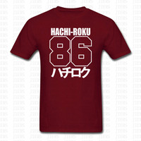Fashion Classic AE86 Japanese Car T Shirt Men Women Hip Hop Japan Hachiroku Print Funny Cotton