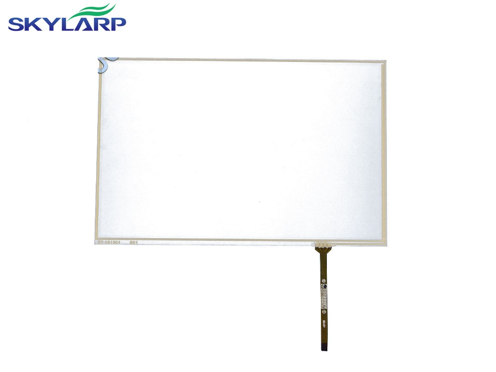 NEW 10.1inch 4 Wire Resistive Touch Screen Panel For B101UAN02.1 16:10 IPS LED Panel Screen touch panel Glass Free shipping