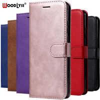 Flip Case para Samsung A40 A90 A80 A10E caja de teléfono de cuero para Samsung Galaxy A40 A405F A10 A20 A30 A50 A70 A60 A20E Capa caso