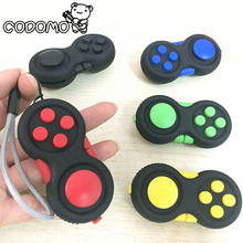 Fidget Pad Game Handle Toys Plastic Reliever Stress 2017 New Hand Fidget Cube Pad Intellectual Puzzle Vent Decompression Gift