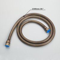 Hello Plumbing Hose Antique Brass New 1500mm Stainless steel 6012 Bathroom Bathtub Sink Hose