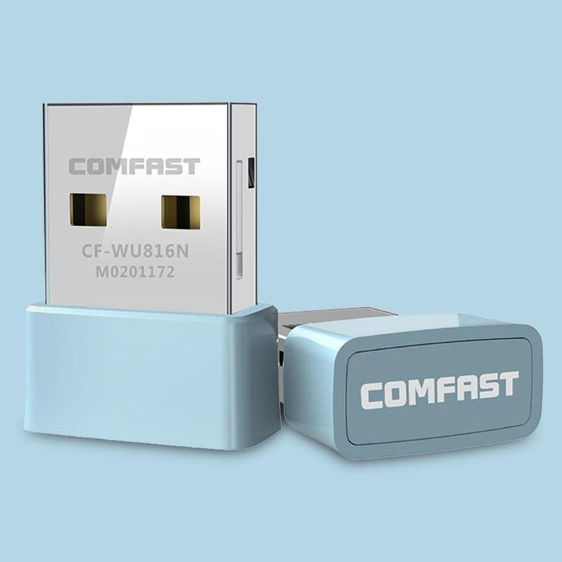 Image 2 - COMFAST CF 816N Mini USB WiFi Adapter 150Mbps Wireless Network Card WiFi Receiver Transmitter for PC for Windows XP/Vista/7/8/10-in Network Cards from Computer & Office