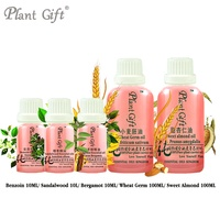 Free Shopping 100 Pure Plant Essential Oils Benzoin Sandalwood Bergamot Wheat Germ Sweet Almond Oil Vietnam