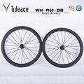 OEM дисковый тормоз карбоновый велосипед набор колес 23 мм 50 мм полный набор колес с карбоновыми клинчерными покрышками 50 мм 700C колесная пара ...