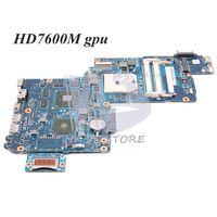 NOKOTION Motherboard placa base para Toshiba Satellite C870D L870D L875D C875D toma de placa principal fs1 DDR3 HD7600M GPU