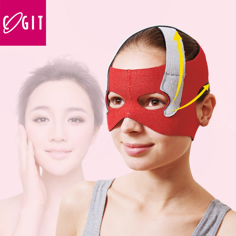 Japan Cogit Beauty Face lift Mask for eye socket care Lifting Face Line Belt Strap for eyehole Sauna face support Face sliming  green 50mm width 2m 2t flat eye to eye web lifting strap tow strap