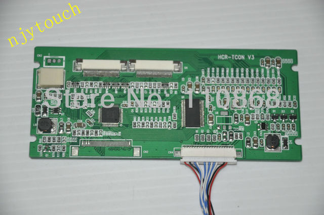 Free shipping HCR-TCON V3 TCON Board LVDS to TTL converter board 20 Pin to Dual 30 Pin Convert