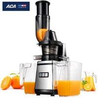 ACA коммерческих/бытовой блендер фрукты соковыжималка машина extractor Соковыжималка, медленно mute корпус из нержавеющей стали, сделать Морожено