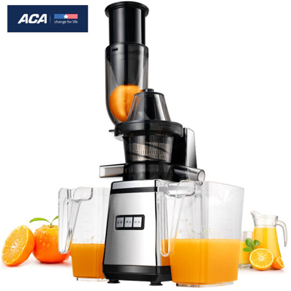 ACA commercial/household blender fruit juicer machine extractor squeezer ,slow mute Stainless steel body,make ice cream AF-SJW16 2017 new 3rd generation juicer slow juicer juicer extractor blender make ice cream juicer