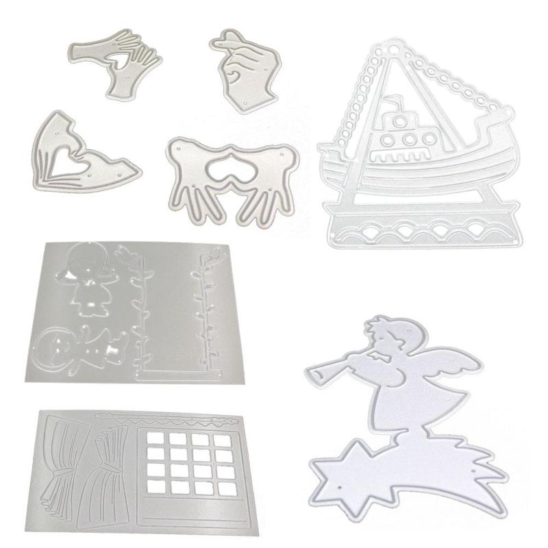 New Merry Christmas Metal Cutting Dies Stencils Scrapbooking Embossing DIY Crafts Festive Party Supplies 3 3