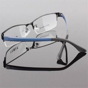 b6758681dec6 flowerhorse Men s Metal Frame Eyewear Glasses Spectacles
