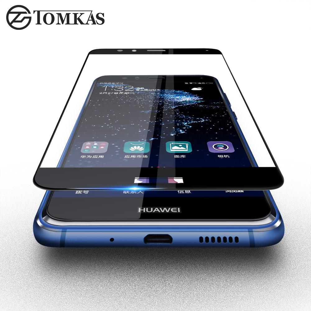 TOMKAS Huawei P10 Lite Tempered Glass Screen Protector 2.5D HD - Ανταλλακτικά και αξεσουάρ κινητών τηλεφώνων - Φωτογραφία 2