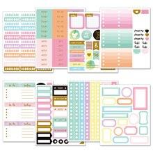 Lovedoki Handmade Sticker Decorative Planner Dokibook Notebook Accessories Bullet Journal Stickers Scrapbooking Stationery Store цена 2017