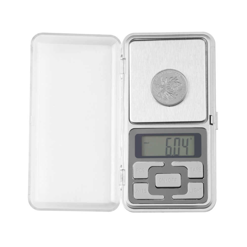 1pcs 200g x 0.01g Mini Digital Scale Electronic Pocket Jewelry Gem Weigh Weighing Scales LCD Balance for Diamond Tea Medicine