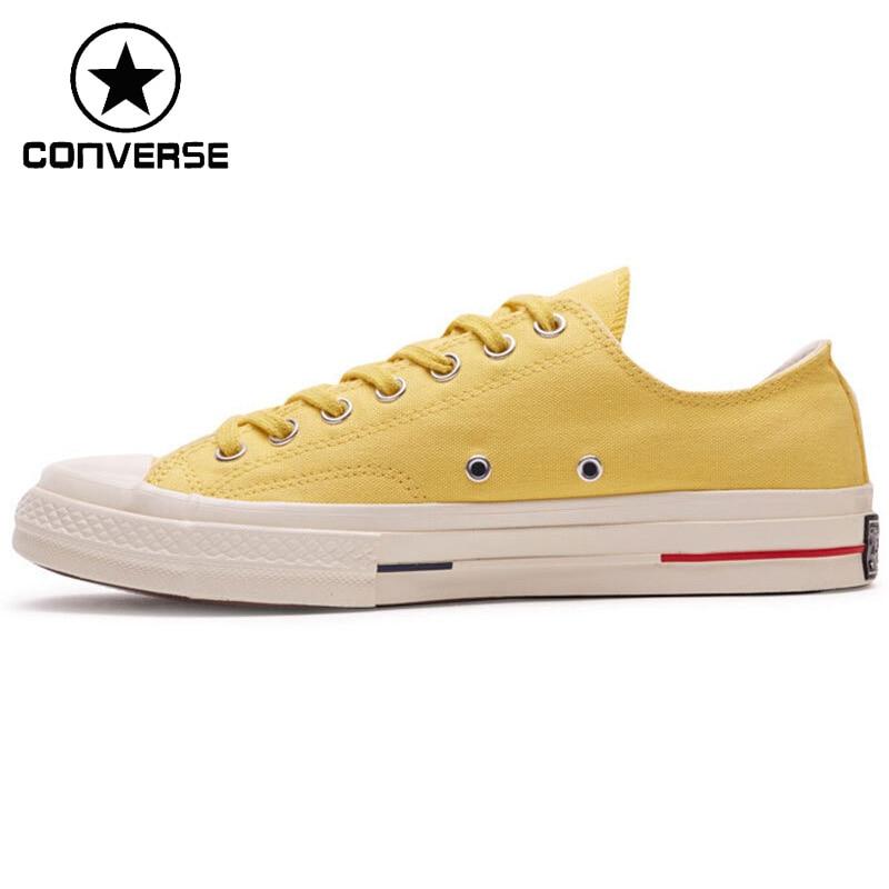 Original Nouvelle Arrivée Converse All Star 70 Unisexe Planche À Roulettes Chaussures Toile Sneakers