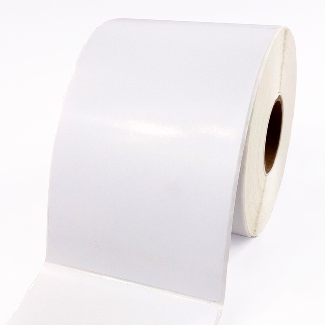 self adhesive labels roll 4 x 3 inches barcode paper 102mm width