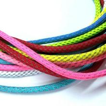 Модные Цветные круглые шнурки для ботинок 3M шнурки отражающие шнурки из полиэстера 130 см длинные шнурки спортивные шнурки