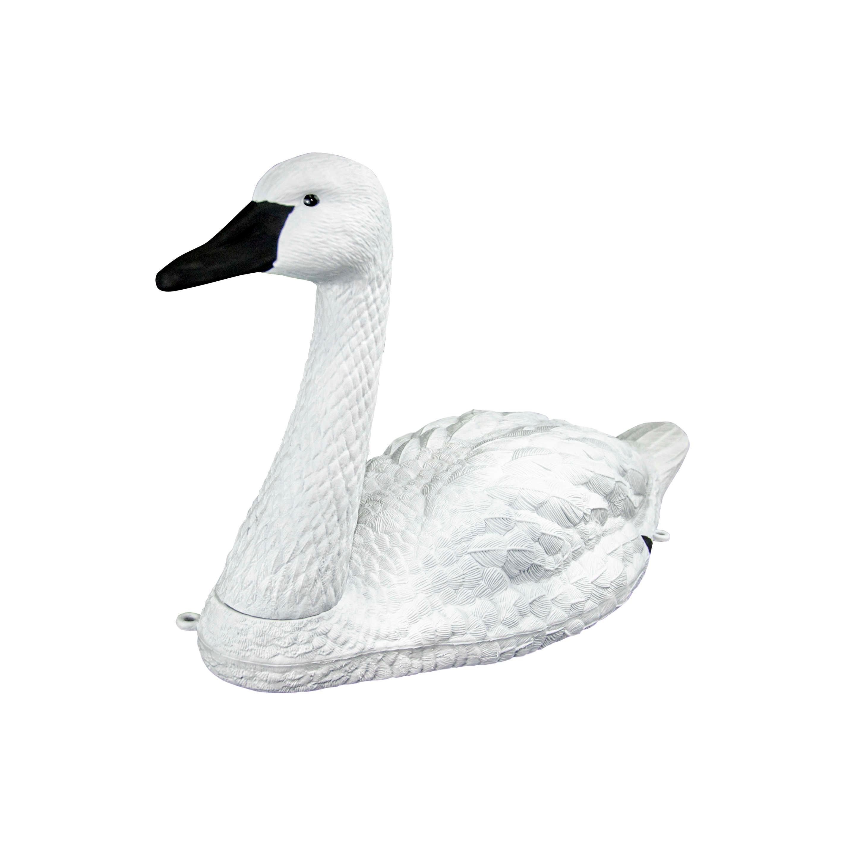 Манки для охоты на уток манок для гуся Большой Белый лебедь садовое украшение для бассейна плавающий белый немой Лебедь манок гуся гуси